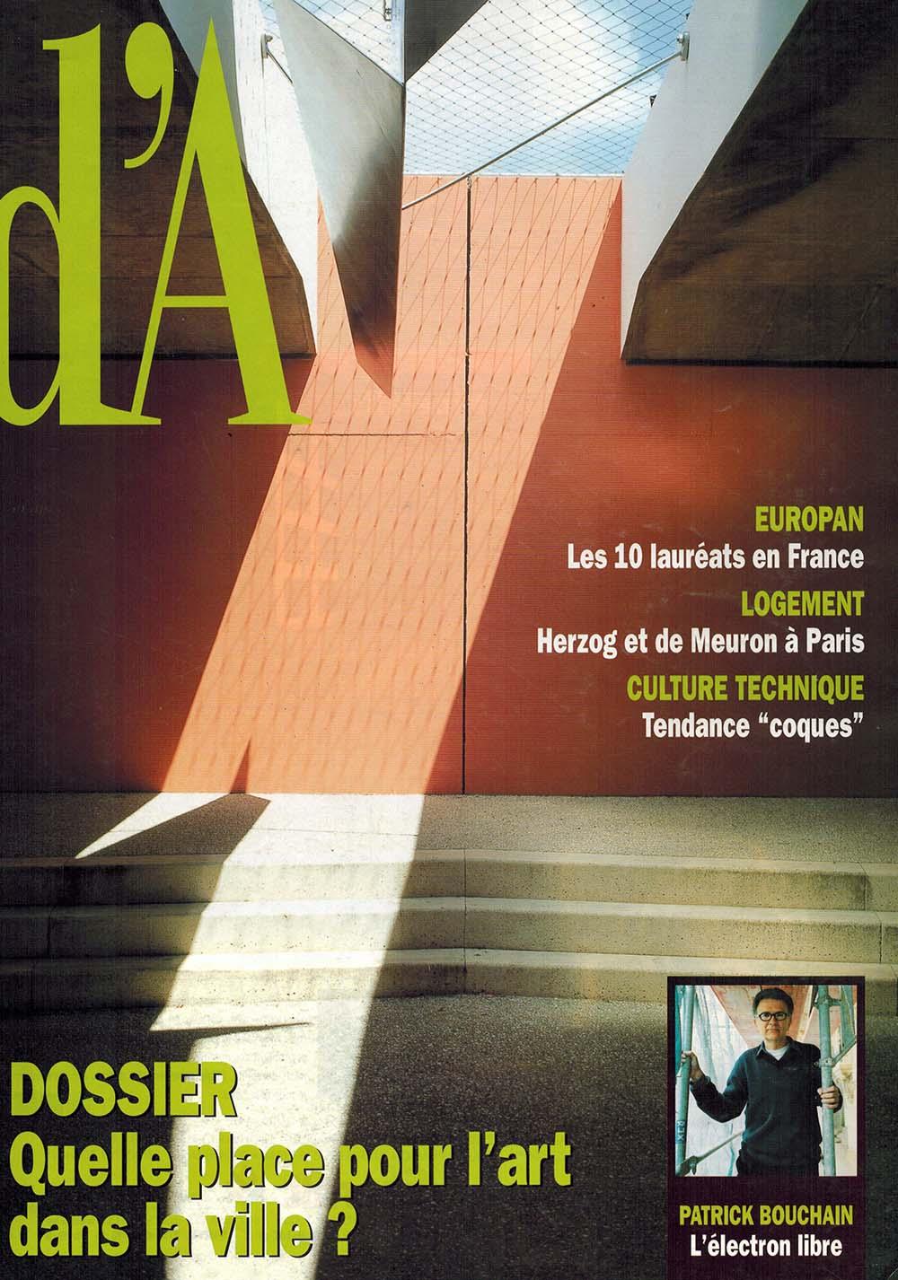 Cécile Nizou - D'architecture n°113 (0)