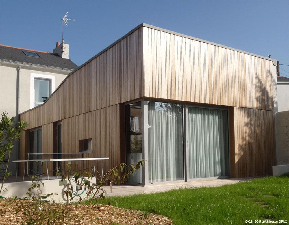 Cécile Nizou architecte nantes - Maison BOU - 02